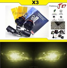 LED Kit X3 50W 9007 HB5 3000K Yellow HEAD LIGHT DUAL BEAM  LAMP REPLACEMENT