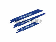 Reciprocating Saw Blades 3pc Wood, Steel and Plastic Cutting Blades CT3500.