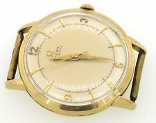 Omega vintage 14K yellow gold bumper automatic men's watch