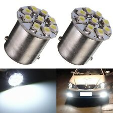 2PCS 1156 BA15S 9 SMD 1210/3528 LED Bombilla Coche Backup Turn Signal Light 12V