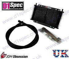 D1 SPEC UNIVERSAL 27 ROW ATF AUTOMATIC TRANSMISSION OIL/FLUID COOLER KIT JDM