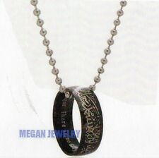 Muslim Shahada stainless steel necklace with arabic and English