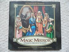 MAGIC MIRROR~Orson Card~FABLE FOR ADULTS~Signed~HCDJ 1ST~Medieval Fantasy~FAMILY
