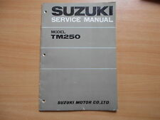 Service manual addendum Suzuki TM 250 (1973)