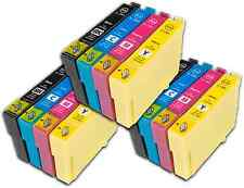 12 T1285 non-OEM Ink Cartridges For Epson T1281-4 Stylus Office BX305F BX305FW