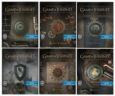 Game of Thrones Season 1-6 Steelbook Collection (Blu-ray) PRE-ORDER! 1 2 3 4 5 6