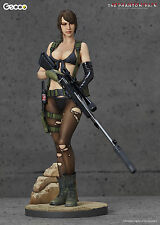 GECCO MGS METAL GEAR SOLID V PHANTOM PAIN QUIET 1:6 PVC STATUE ~BRAND NEW~