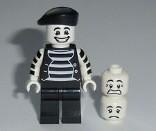 "COLLECTIBLE MINIFIGURE Lego Series 2 ""MIME""   NEW Genuine Lego 8684"