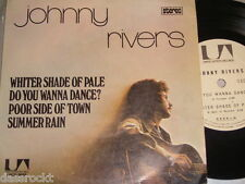 """7"""" EP - Johnny Rivers / Whiter Shade of Pale + 3 Track - Brasil 1973"""