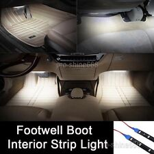 "2x 12"" White LED Interior Exterior Strip Footwell Dash Ambient Light Fit Buick"
