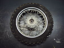 2002 02 KTM 50 HUSKY BOYS HUSQVARNA MOTORCYCLE WHEEL TIRE RIM SPOKES 2.50-10