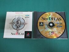 PlayStation -- Neo ATLAS playstation the best -- PS1. JAPAN. Clean & work. 22804