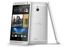 HTC One M7 32GB  Silver GSM Unlocked 4G LTE Android Smartphone