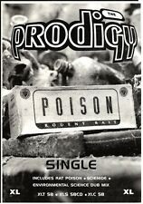 "11/3/95PGN53 SINGLE ADVERT 7X5"" THE PRODIGY : POISON RODENT BAIT"