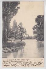 AK Wien II, Prater Idylle, 1904