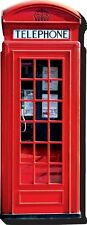 London telephone Box chunky thick fridge magnet    (nm)