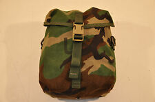 NEW - USGI MOLLE II SUSTAINMENT POUCH - WOODLAND CAMOUFLAGE - UNISSUED SURPLUS