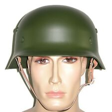 WW2 German M35 Steel Helmet Field Green UK Supplier