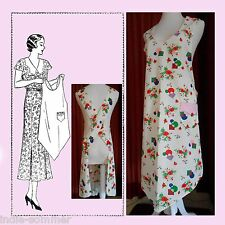 ~ Vintage Flapper Era Full Size Apron Reproduction  Pattern,  Mail Order # 910