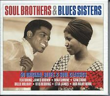Soul Brothers & Blues Sisters - 50 Original Blues & Soul Classics 2CD NEW/SEALED