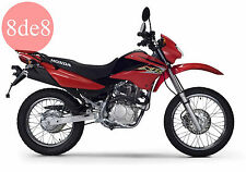Honda XR 125L (2003) - Manual de taller en CD (En italiano)