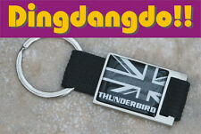 Thunderbird Keyring Key Ring Fob Black and Alloy Gift fit for Triumph