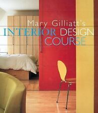 Mary Gilliatt's INTERIOR DESIGN COURSE - HCDJ