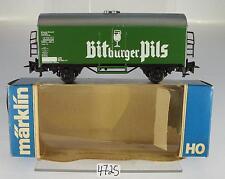 Märklin H0 4536 Kühlwagen Bitburger Pils 2-achsig der DB 2~  OVP #4725