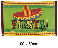 MEXICAN FIESTA SOMBRERO FLAG Summer Party Decoration Flag Garland 54406