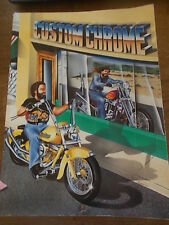 1993 CUSTOM CHROME CATALOG Motorcycle Bikers Book 708 pgs Parts Accessories VGC
