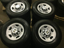 1999-2016 8 LUG 2500 3500 CHEVY TRUCK SILVERADO EXPRESS VAN WHEELS RIMS TIRES