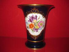 Meissen 1 Wahl Vase Kobalt Gold Amphore 19 cm B Form X Form Figur Prunk