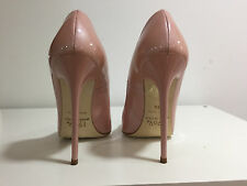 1969 Pumps 13cm Sexy pink salmon nude fetish sky high heels 38 nib