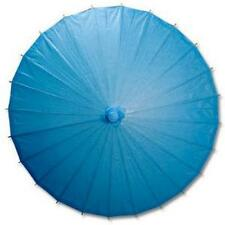 Blue Paper Wedding Party Parasol 32in D13398-10 S-3708