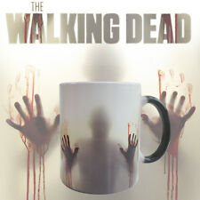 The Walking Dead Zombies Heat Sensitive Ceramic Tea Coffee Mug Cup Novelty Gift