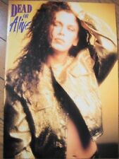 Amazing DEAD OR ALIVE/Pete Burns FAN THE FLAME Tour Book/Program JAPAN 1990 RARE