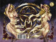 SOUTHERN NIGHTGOWN #1 Wrap Around Cover J Scott CAMPBELL McTeigue JP Roth Grimm