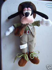 "Disney Soldier Boy Khaki Uniform Plush Stuffed Animal Bean Bag 12"" Tall Toy"