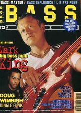 Bass #23 -Mark KING- Doug Wimbish, Fender, Warwick, Modulus,…