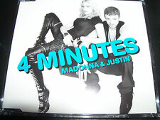 Madonna 4 Minutes Rare Australian CD Single - Like new