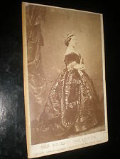 Cdv old photograph Queen Victoria by Clifford c1860s ref 16z3