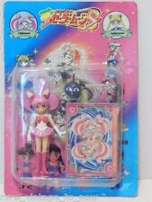"Vintage NEW Sailor Chibi Moon JAPAN Rini  4"" Action Figure Luna P Wand Toy Doll"
