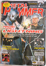 Metal Hammer..  Ride the Lightening..Jan 2001