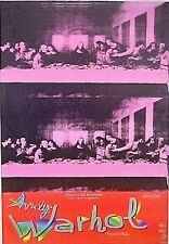 Andy Warhol LAST SUPPER POSTER  FOR 90'S  European exibition