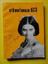 Cinéma 63 n° 77 1963 Cannes Pierre Prévert Bunuel George Cukor Jean Effel