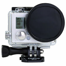 Polar Pro GoPro Hero 4 3+ 40m Housing Polarising Lens Filter Polariser - P1003