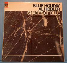 BILLIE HOLIDAY AL HIBBLER SHADES OF BLUE SUM-1147 VINYL LP 1968 MONO VG+/VG+!!
