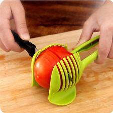 Potato Tomato Onion Lemon Vegetable Fruit Slicer Egg Peel Cutter Holder Slicer