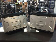 Vario Cases - Right & Left W/ Locks for a BMW R1200GS (05-12) (consignment)