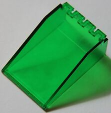 1 x LEGO 4474 WINDSCREEN CANOPY 6x4x2 TRANS GREEN - SPACE 1968 6952 6891 6940